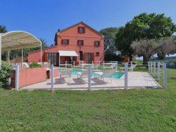 Vakantie accommodatie Adriatische kust,Le Marche Italië 14 personen