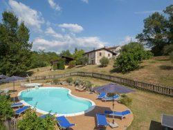 Vakantie accommodatie Noord-Italië,Toscane Italië 15 personen