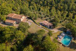 Vakantie accommodatie Umbrië Italië 14 personen