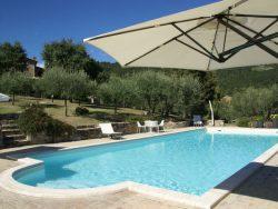 Vakantie accommodatie Umbrië Italië 9 personen